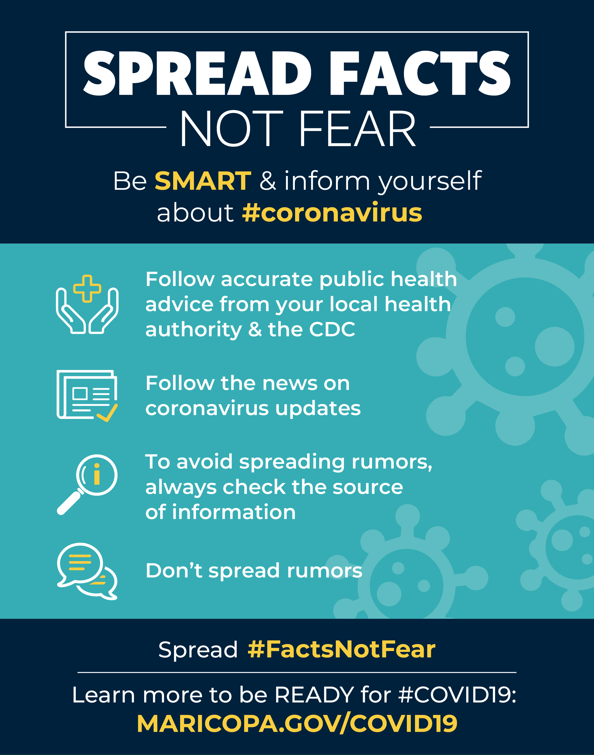 Spread Facts Not Fear