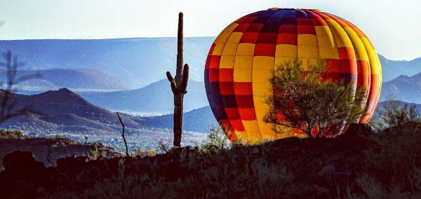 Balloons Over Maricopa County (Photo: Doris Stafford)